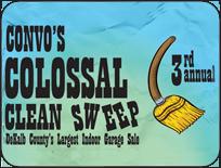 NIU Convo Center 3rd Annual Clean Sweep