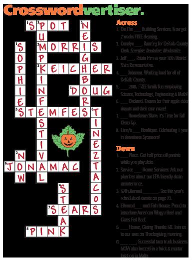 New Values Magazine crossword puzzle answers | New Values Magazine